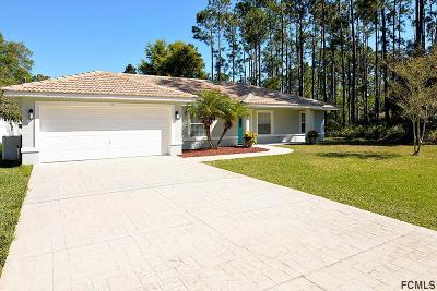 Palm Coast FL Single Family Home For Sale: $207,657