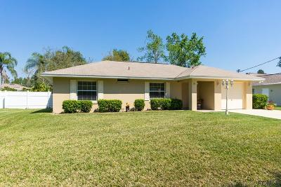 Palm Coast Single Family Home For Sale: 6 Renmont Court