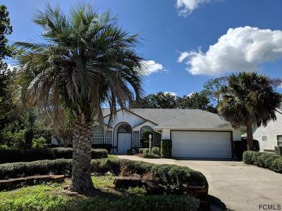 Palm Coast FL Single Family Home For Sale: $233,900
