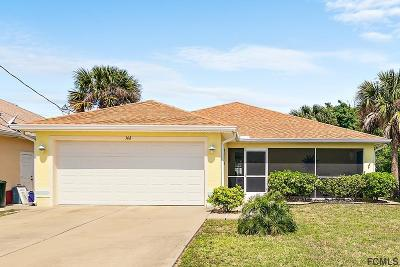 Flagler Beach Single Family Home For Sale: 308 7th St N