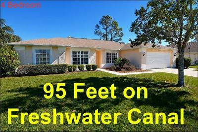 Palm Coast FL Single Family Home For Sale: $249,000