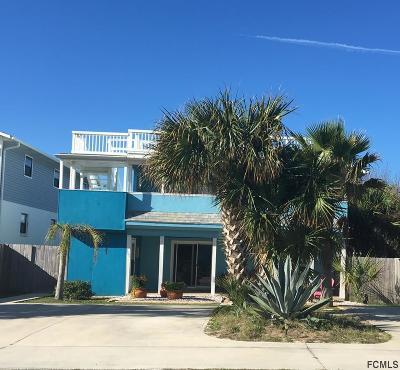 Flagler Beach FL Single Family Home For Sale: $495,000