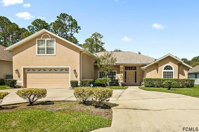Palm Coast FL Single Family Home For Sale: $295,000
