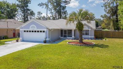 Palm Coast Single Family Home For Sale: 184 Bayside Dr
