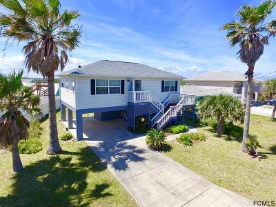 Flagler Beach FL Single Family Home For Sale: $349,900