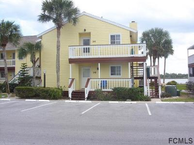 Flagler Beach Condo/Townhouse For Sale: 310 Ocean Marina Drive #106