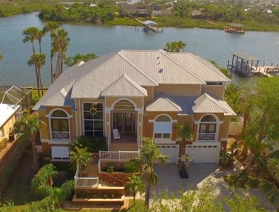 Flagler Beach FL Single Family Home For Sale: $1,599,000