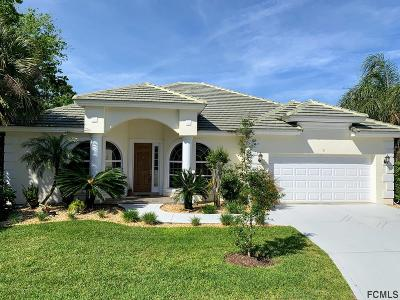 Palm Coast Single Family Home For Sale: 9 Longview Way N
