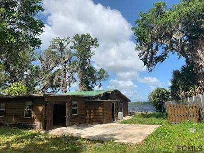 St Augustine Single Family Home For Sale: 8208 River Rd