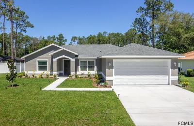 Palm Coast Single Family Home For Sale: 23 Wendlin Ln