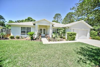 Palm Coast Single Family Home For Sale: 18 Pineland Ln