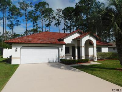 Palm Coast Single Family Home For Sale: 20 Wedgewood Lane