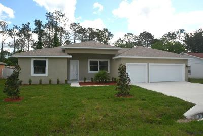 Palm Coast Single Family Home For Sale: 9 Kathleen Trail