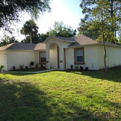 Palm Coast Single Family Home For Sale: 29 White House Dr