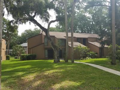 Palm Coast Condo/Townhouse For Sale: 1 Mid Pines Circle #1