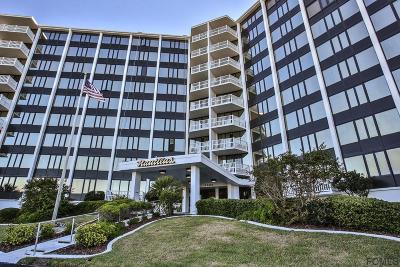 Flagler Beach Condo/Townhouse For Sale: 3580 S Ocean Shore Blvd #802