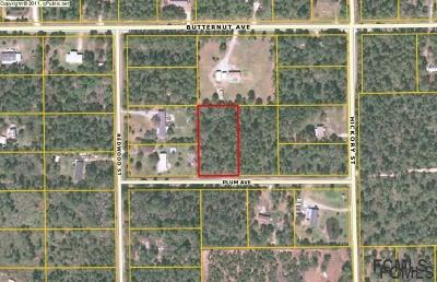 Residential Lots & Land For Sale: 4572 Plum Ave