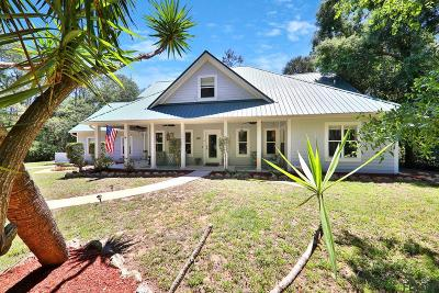 Flagler Beach Single Family Home For Sale: 6 Bulow Woods Circle