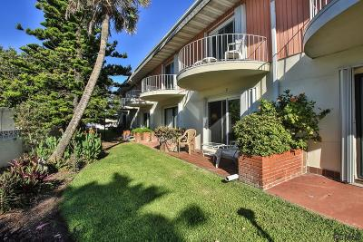 Ormond Beach Condo/Townhouse For Sale: 2800 Ocean Shore Blvd #9