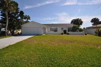 Flagler Beach Single Family Home For Sale: 277 Ocean Palm Drive
