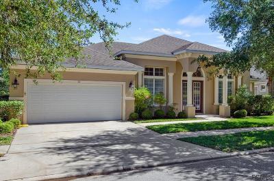 Palm Coast Single Family Home For Sale: 21 Eastlake Drive