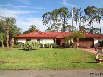 Palm Coast FL Single Family Home For Sale: $235,000