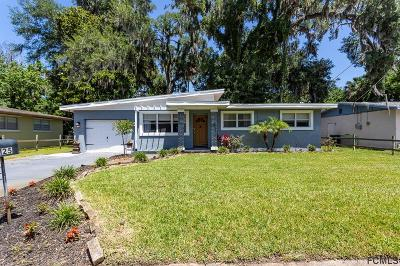 Daytona Beach Single Family Home For Sale: 125 Baywood Dr