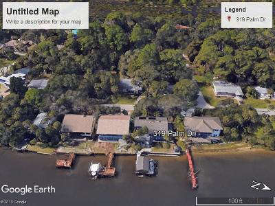 Flagler Beach Single Family Home For Sale: 319 Palm Dr