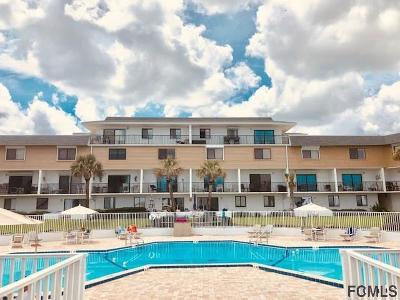 Flagler Beach Condo/Townhouse For Sale: 3500 S Ocean Shore Blvd #221