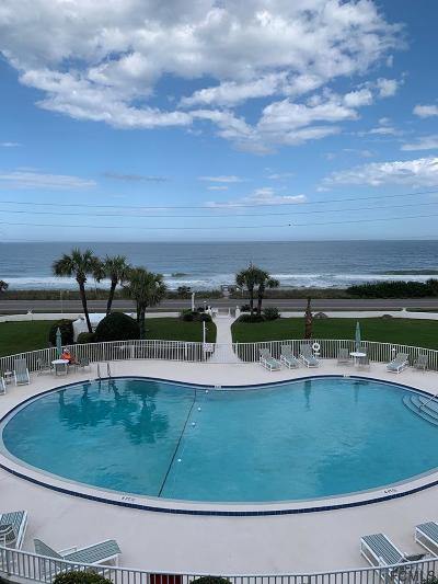 Flagler Beach Condo/Townhouse For Sale: 3510 S Ocean Shore Blvd #212