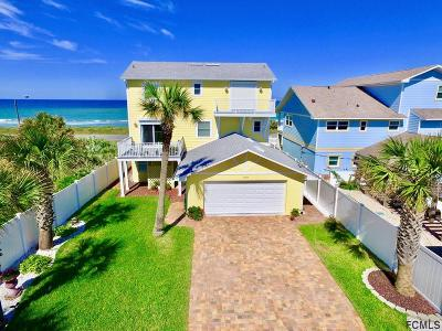 Flagler Beach Single Family Home For Sale: 2544 S Ocean Shore Blvd