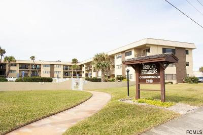Ormond By The Sea Condo/Townhouse For Sale: 2100 Ocean Shore Blvd #1140