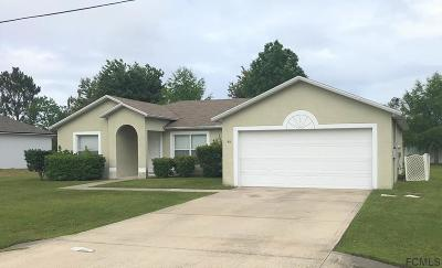 Palm Coast Single Family Home For Sale: 46 La Mancha Dr