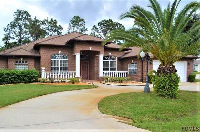 Palm Coast Single Family Home For Sale: 2 Watson Place