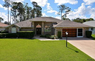 Palm Coast Single Family Home For Sale: 28 Westbrook Ln