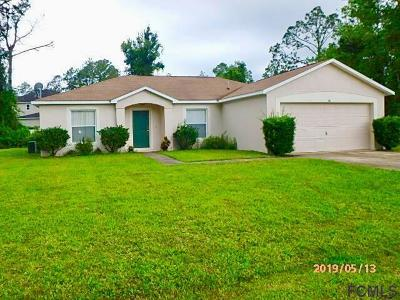 Palm Coast Single Family Home For Sale: 36 Roxboro Drive