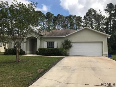 Palm Coast Single Family Home For Sale: 10 Promenade Pl
