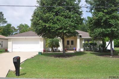 Palm Coast Single Family Home For Sale: 10 Ruth Drive