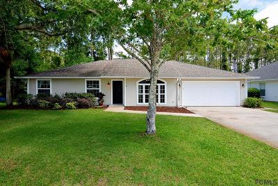 Palm Coast Single Family Home For Sale: 8 Wildwood Pl