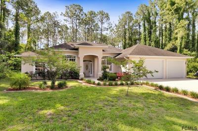 Palm Coast Single Family Home For Sale: 11 Burning Bush Pl