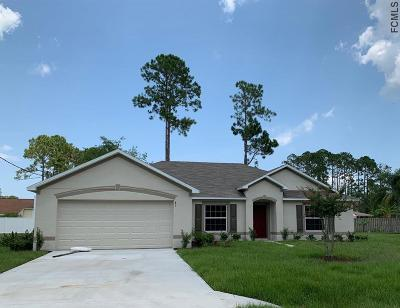 Palm Coast Single Family Home For Sale: 83 Beckner Ln