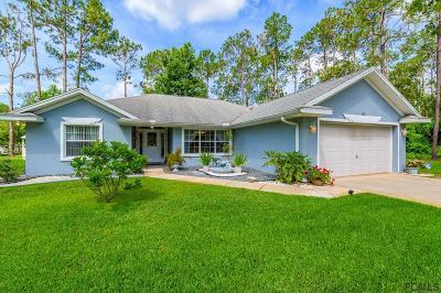 Palm Coast FL Single Family Home For Sale: $192,500