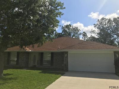 Palm Coast Single Family Home For Sale: 21 White Dove Ln