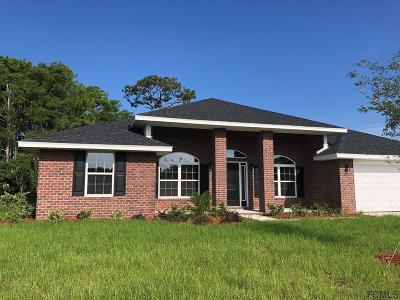 Flagler Beach Single Family Home For Sale: 14 Turtle Ridge Dr