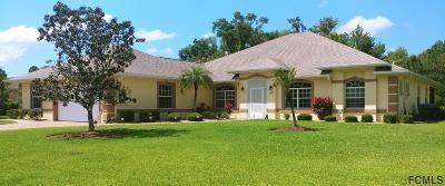 Palm Coast Single Family Home For Sale: 14 Lakeside Pl E