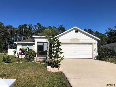 Palm Coast Single Family Home For Sale: 3 Zebulon Place