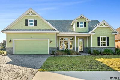 Palm Coast Plantation Single Family Home For Sale: 15 Lakewalk Dr N