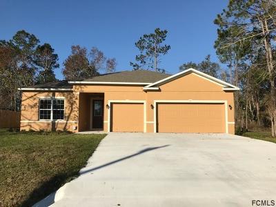 Palm Coast FL Single Family Home For Sale: $269,500