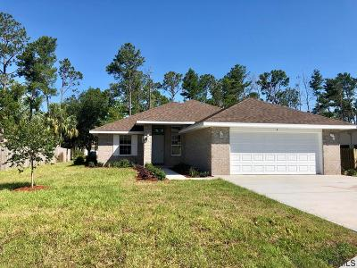 Palm Coast Single Family Home For Sale: 9 Franciscan Lane