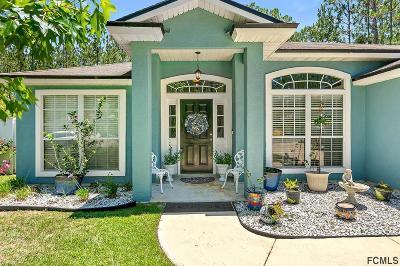 Palm Coast FL Single Family Home For Sale: $210,000